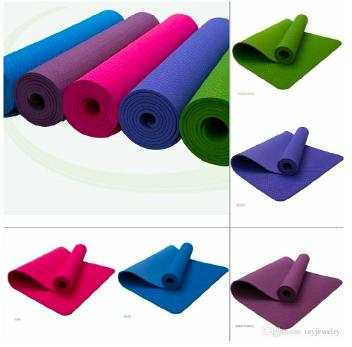 KBF Fitness Textured Pattern, Anti Skid Non-Slip Yoga Mat