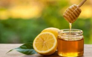 Honey-lemon mask