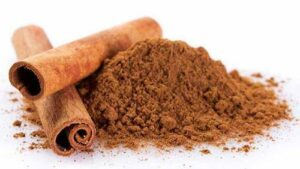 Add a pinch of Cinnamon in the meal