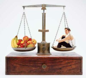 Attain a Balanced Weight