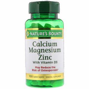 Nature's Bounty, Calcium Magnesium Zinc with Vitamin D3
