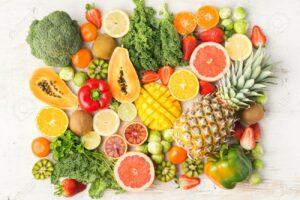 Fruits rich in Vitamin C
