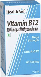 HealthAid Mega Strength Vitamin B12