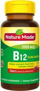 Nature Made Vitamin B-12 Sublingual