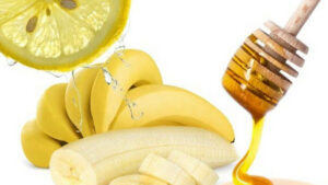 Banana, Lemon and Honey Mask