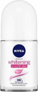 NIVEA Deodorant Roll-on, Whitening Smooth Skin