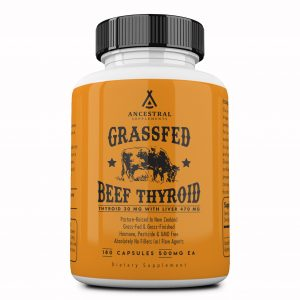 Natural Desiccated Thyroid by Ancestral Supplements