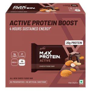 RiteBite Max Protein Active Choco Fudge Bars